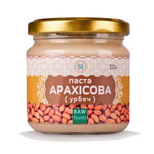 Арахисовая паста Эколия - 200 грамм ॐ Бутик ROSA