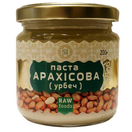 Арахисовая паста Эколия, урбеч - 200 грамм ॐ Бутик ROSA