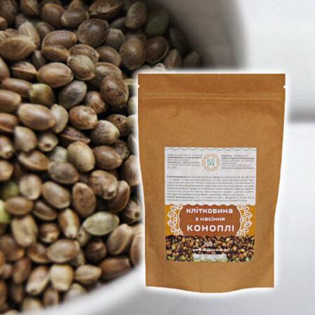 Клетчатка из семян конопли Ecoliya, 200 грамм ॐ Бутик ROSA