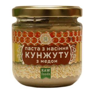 Паста из семян кунжута с медом (Эколия)