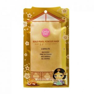 Золотая маска-пудра для лица Cathy Doll