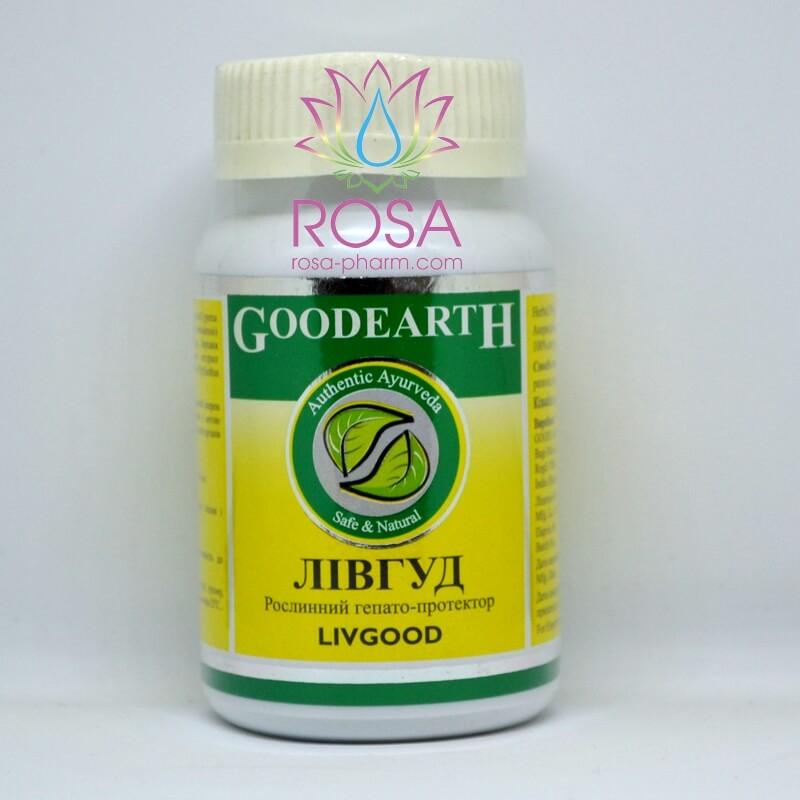 Ливгуд Goodcare Pharma, 60 капсул ॐ Бутик ROSA