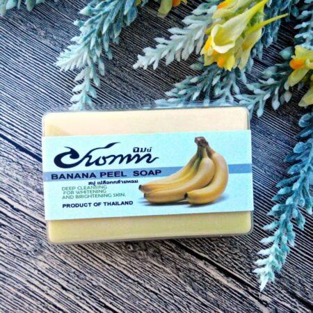 Банановое мыло-пилинг ручной работы (chom)