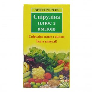 Спирулина Плюс с Амлой (spirulina Plus, Goodcare)