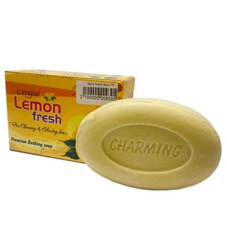 Мыло лимон (Lemon Fresh Soap, Gurukul) ॐ Бутик ROSA