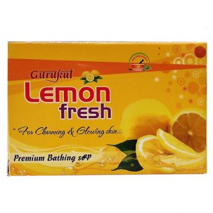 Мыло лимон (Lemon Fresh Soap, Shreeji Sanjivani) купить в Бутике аюрведы премиум