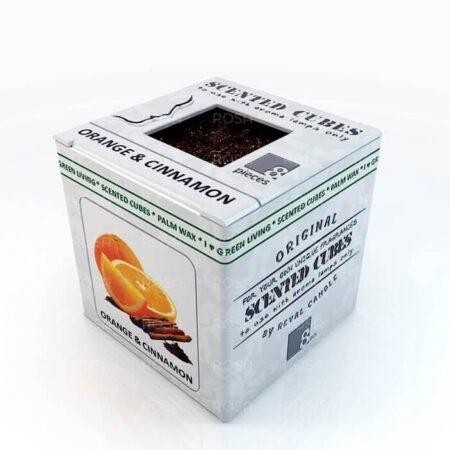 Аромакубики Апельсин с корицей Scented Cubes ॐ Бутик ROSA