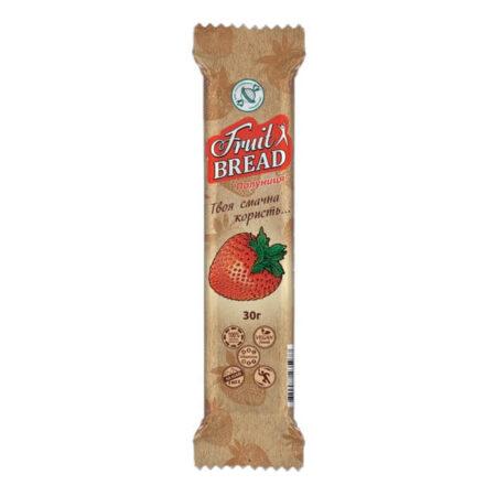 Батончик «Fruit Bread» Клубника, 30 грамм ॐ Бутик ROSA