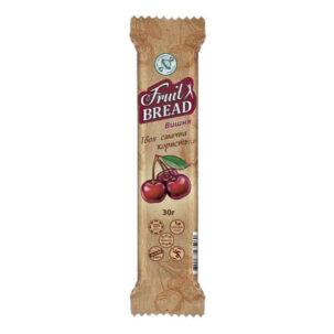 Батончик «Fruit Bread» Вишня 30г. - Сладкий Мир ॐ Бутик ROSA