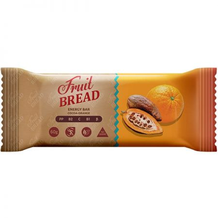 Батончик «Фруктовый Хлеб» Какао-апельсин 60г. ॐ Бутик ROSA