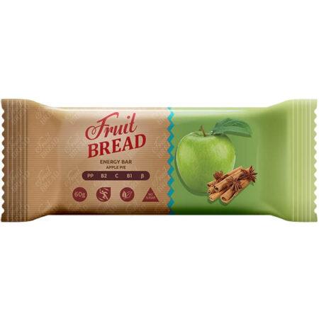 Батончик «Фруктовый Хлеб» Яблочный пирог, 60 грамм ॐ Бутик ROSA