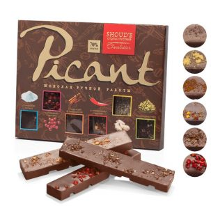 Набор шоколадных плиточек «Picant» ॐ Бутик ROSA