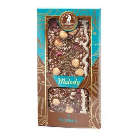 Шоколад Рапсодия серии Мелодия, 100 грамм ॐ Бутик ROSA