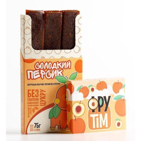 Натуральные яблочно-персиковые конфеты ФРУТIM ॐ Бутик ROSA