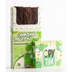 Натуральные яблочные конфеты ФРУТIM, 75 грамм ॐ Бутик ROSA