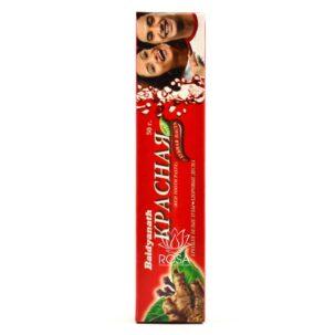 Красная зубная паста RED - аюрведическое средство ॐ Бутик ROSA