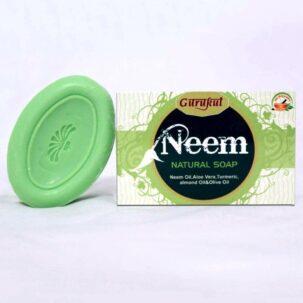 Антибактериальное натуральное мыло НИМ Gurukul