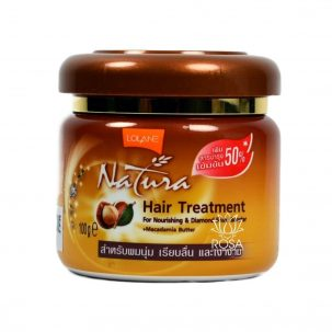 Маска-бальзам для сухих волос с маслом макадамии