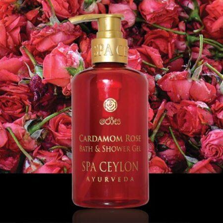 Гель для душа и ванны Кардамон и Роза Spa Ceylon ॐ Бутик ROSA