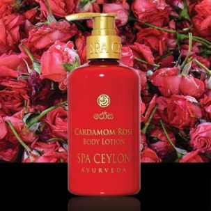 Лосьон для тела Кардамон и роза Spa Ceylon, 250 мл ॐ Бутик ROSA