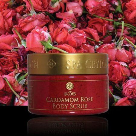 Скраб для тела Кардамон и Роза Spa Ceylon, 125г. ॐ Бутик ROSA