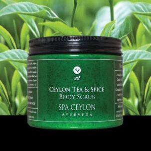Скраб для тела Цейлонский чай и специи