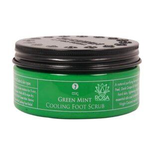 Охлаждающий скраб для ног Зеленая Мята (green Mint)