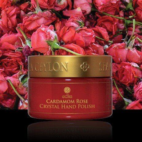 Кристаллический скраб для рук Кардамон и Роза