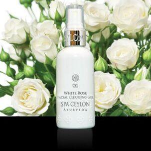 Очищающий гель для лица Белая Роза
