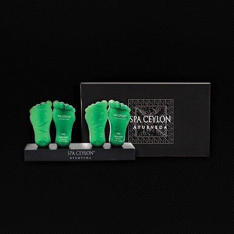Роскошная коллекция средств для ног Зеленая Мята