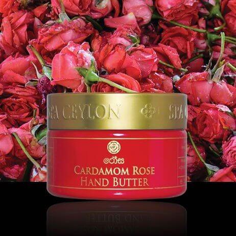 Масло для рук Кардамон и Роза (cardamom Rose Butter)
