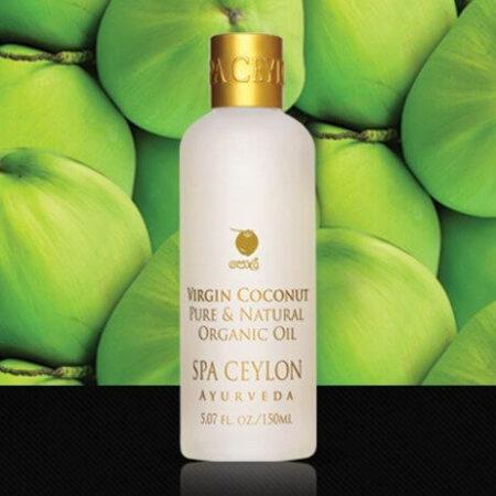 Натуральное органическое кокосовое масло Spa Ceylon ॐ Бутик ROSA