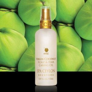 Кокосовое масло для ухода за волосами и кожей головы