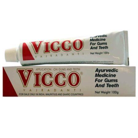 Аюрведическая зубная паста Викко (Vicco Toothpaste) ॐ Бутик ROSA