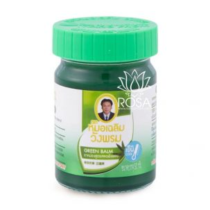 Зеленый тайский бальзам Green Balm, 50 грамм ॐ Бутик ROSA