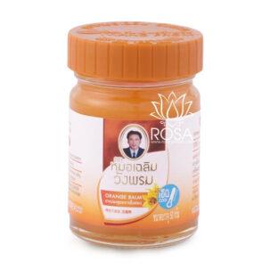 Оранжевый тайский бальзам Orange Balm, 50 грамм ॐ Бутик ROSA