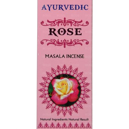 Благовония Роза (Rose Incense, Agarbathi Works) ॐ Бутик ROSA
