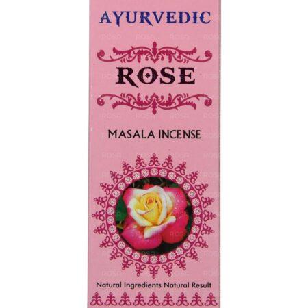 Благовония Роза (Rose Incense, Agarbathi Works) ॐ Бутик ROSA
