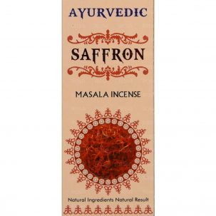 Благовония Шафран (Saffron Incense, Agarbathi Works) ॐ Бутик ROSA