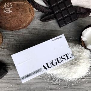Шоколад без сахара с кокосом и ванилью August ॐ Бутик ROSA