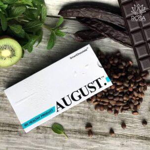Шоколад без сахара с киви, мятой и кедровым орехом ॐ Бутик ROSA