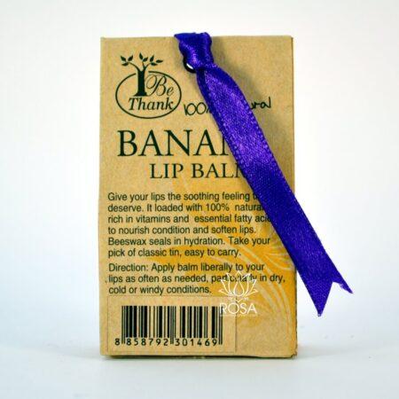 Тайский бальзам для губ с экстрактом банана Be Thank ॐ Бутик ROSA