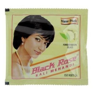 Краска для волос на основе хны Kali Mehandi чёрная