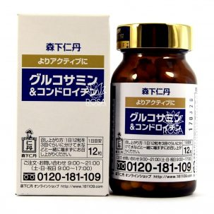 Глюкозамин и хондроитин (Morishita Jintan) 360 капсул ॐ Бутик ROSA