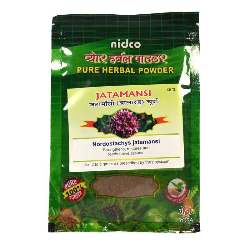 Джатаманси (Jatamansi, Nidco), 25 грамм ॐ Бутик ROSA