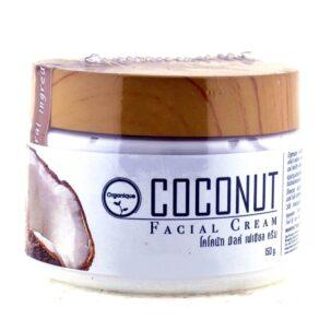 Крем для лица с кокосовым маслом Organique ॐ Бутик ROSA