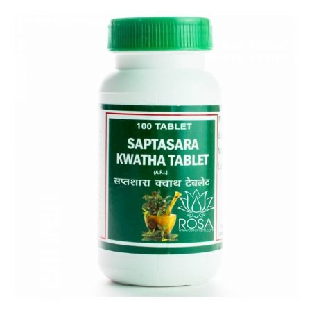 Саптасара Кашая (Saptasara Kwatha Tablet), 100 табл. ॐ Бутик ROSA