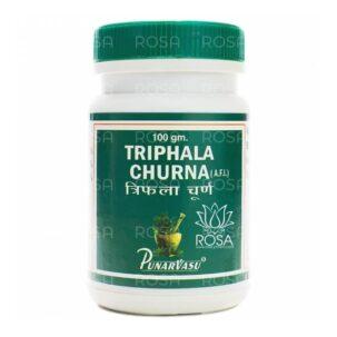 Трифала Чурна (Triphala Churna, Punarvasu), 100 грамм ॐ Бутик ROSA