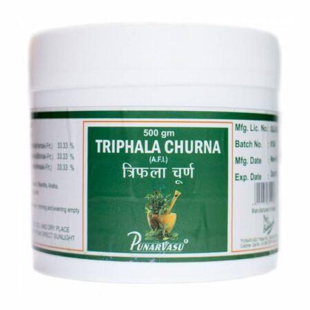 Трифала Чурна (Triphala Churna, Punarvasu) ॐ Бутик ROSA