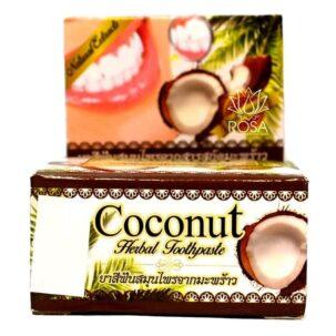 Тайская отбеливающая зубная паста с кокосом